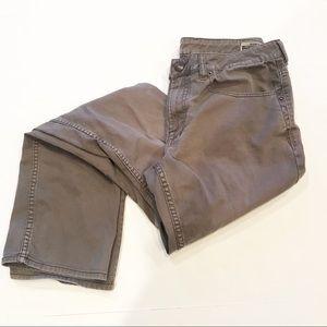 Buffalo Sam X Slim Straight Stretch Brown Jeans
